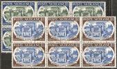 Vaticano 1957 - Usato 227-28 - Accademia Scienze - Bloc 6x - Vatican