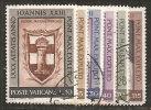 Vaticano 1961 - Usato 317-22 - Genetliaco - Oblitérés