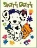 PC081 Spottie Dottie. Hond, Dog, Chien. Sanrio. - Stripverhalen