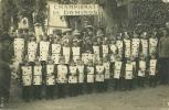 CARTE PHOTO  CHAMPIONAT  DE DOMINOS ENFANTS DEGUISES - Otros