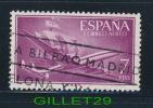 ESPANA, TIMBRE - SHIP - PLANE - F.N.M.T. - 7 PTAS - OBLITÉRÉ - - 1931-Today: 2nd Rep - ... Juan Carlos I