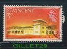 ST.VINCENT STAMP - TERMINAL BUILDING, 1965 - SCOTT No 228 - 3c - USED - - St.Vincent (1979-...)