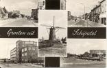 Groeten Uit SCHIJNDEL - N. Brabant - Nederland - Molen J. De Backer - Kousenfabriek - Takszegel - 1963 - Autres