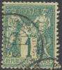 France 64, USED, 4 Margins, Sound (fr064-5, Mich 56 (16- Gp - 1876-1878 Sage (Type I)