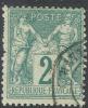# France   65, Used,  Type  L,  Sound   (fr065-1,  [16-BET - 1876-1878 Sage (Type I)