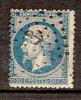 F053   20c Bleu Et Oblitération Ancre - 1862 Napoleone III