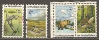 USA. Scott # 1921-24,2026 Used. Commemorative Stamps. 1981-82 - Usati