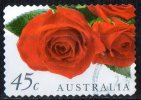 Australia 1999 45c Red Roses Self-adhesive Used - Used Stamps