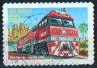 Australia 2004 The Ghan 50c- Train Journey Alice Springs To Darwin Self-adhesive Used - 2000-09 Elizabeth II