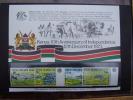 KUT 1973 10th.Anniv KENYAN INDEPENDENCE  Issue 4 Values To 2/50  MNH With PRESENTATION CARD.. - Kenya, Uganda & Tanganyika