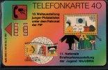 ! Telefonkarte 1990 Najubria Düsseldorf Briefmarkenausstellung, Germany Chip Phonecard, K70 05.90 Stamp - Allemagne
