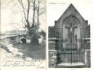 Belgique:SOMBREFFE (Namur) :2 Cartes:1:Le Calvaire.2:Vestiges Du Pont Du Château-Fort.1908. - Sombreffe