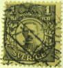 Sweden 1910 King Gustav VI 1kr - Used - Oblitérés