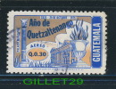 TIMBRE DU GUATEMALA - PALACIO MUNICIPAL, 1975 - Q.0.30 - ANO DE QUETZALTENANGO - OBLITÉRÉ - Guatemala
