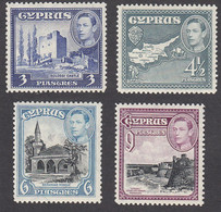 Cyprus 1938  King.George VI   3 Pia   SG156a   MH - Zypern (...-1960)