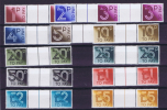 Great Britain 1982, Postage Due, Gutter Pairs, MNH, Neuf ** - Strafportzegels