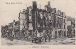 LONGUYON - Rue Carnot (animée Militaires Cheval Remorque Carte Allemande) Dép54 - Longuyon