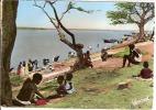 BAMAKO-LES BORDS DU NIGER-LAVANDIERES-lessive Du Linge - Mali