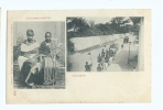 1900s Zanzibar Finely Dressed Native Couple Royal Procession? M/view Ppc/cpa Unused - Tanzania