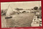THE BRIDGE, POTTER HEIGHAM    Oblitéré à SUFFOLK   (petite Animation, Bateaux !!!)  --- R10545 - Non Classés