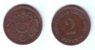 Germany 2 Pfennig 1906 F - [ 2] 1871-1918 : Imperio Alemán