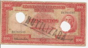 MOZAMBIQUE 100 ESCUDOS 1958 VF P 107 - Mozambique