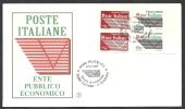 1995 ITALIA FDC FILAGRANO ENTE POSTE DA LIBRETTO - 4 - F.D.C.