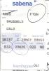 Boarding Pass - Sabena - SN787 - Brussels-Oslo FBU - 29MAY95 - Instapkaart