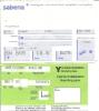 Boarding Pass - Sabena - SN805/SN810 - Brussels-Milan LIN-Brussels - 02-03MAY95 - Instapkaart