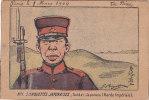 ILLUSTRATEUR.  N. 1 SILHOUETTES JAPONAISES . SOLDAT JAPONAIS . GARDE IMPERIALE.  1904   DOS SEPARE. - Illustrateurs & Photographes