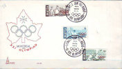 MALTA  -  OLYMPIS MONTREAL - WATER POLO - SAILING  - FDC  - 1976 - Estate 1976: Montreal