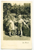 """2 Kinder Im Garten, """"Gute Freunde"""", Um 1940 - Kinder"""