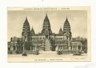 Cp, 75, Paris, Exposition Coloniale Internationale - Paris 1931 - 248 - Angkor-Vat, Façade Principale - Exhibitions