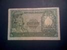 """L. 50 Biglietto Di Stato Tipo 1951 """"Italia Elmata"""" - DPR 31.12.1951; MB. - [ 2] 1946-… : Repubblica"""