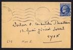 Cérès De Mazelin 1,30 Fr Yv 678  Seul Sur Imprimé  24.05.1947 - 1921-1960: Moderne