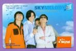 SKYTEL  2000  -   °   Quatre  Jeunes  Gens  Melody   °    T  B  E - Mongolie