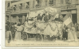 LYON MI CAREME 1910  LES BLANCHISSEUSES QUAI BROTTEAUX   BAINS DE VAPEUR  PERSONNAGES - Lyon