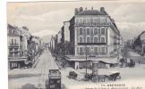 20514 Grenoble Avenues Gare Alsace Lorraine. Baffert 104 -tramway Publicité Dubonnet -hotel Savoie Bordeaux Caleche - Tramways