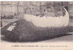 20527 Nantes (44 France) Fetes  Mi Careme 1928 Enfin Libres -21 Nozais Poussins Sortant Oeuf - Carnaval