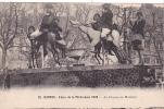 20531 Nantes (44 France) Fetes  Mi Careme 1928 COURSE AU BONHEUR -20 Nozais - ! état ! Cheval Course Femme
