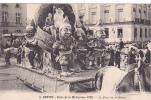 20540 Nantes (44 France) Fetes Mi Careme 1928 Char Reine -3 Nozais - Nain - Nantes