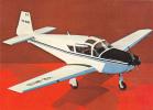 AVIONS: IAR 823 (YR-NHB) Flight Training, Tourism, Business.- Postcard Unused-ROMANIA. - Avions