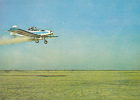 AVIONS:IAR 822-AGRICULTURAL AIRCRAFT-AVION AGRICOLE- Postcard Unused-Romania - Avions