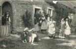 CPA 44 AU PAYS DU SEL UN BAPTEME 1908 - France