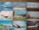 CPM  Avion : Lot De 55 Cartes DC 10 Et MD 11  Tirage Récent Beaucoup à 600 Ou 800 Ex - 1946-....: Moderne