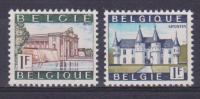 Belgique N° 1423 - 1424 *** Tourisme - Spontin - Ieper - 1967 - Unused Stamps