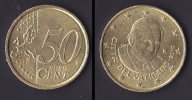 Vaticano 50 Centesimi Euro 2010 - Vaticaanstad