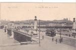 20549 Lyon Le Pont Du Midi Sur Rhone ; LL 109 . Tramway Publicité Riqules - Lyon