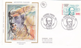 Enveloppe Premier Jour Augustin Cauchy Paris Visage Vers La Gauche 3.60 Franc - Lettres & Documents