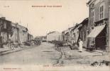 54 - LUCEY - CPA -La Grande Rue -  Vue Animée - Superbe état - Frankreich